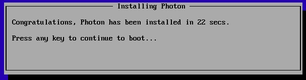 Photon install in under 30 seconds