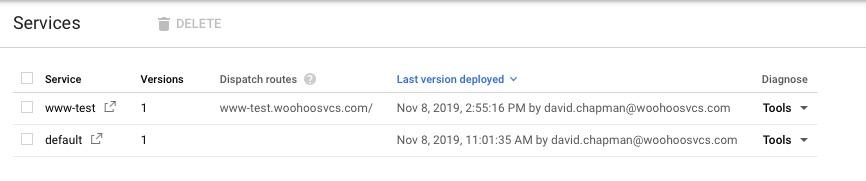 Google App Engine / Services