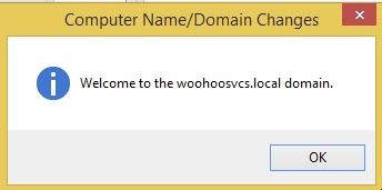 Welcome to woohoosvcs.local - Woohoo!