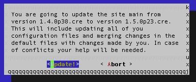 omd update